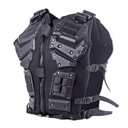 Military Tactical Vest 600D Nylon Airsoft Paintball Vest - Black