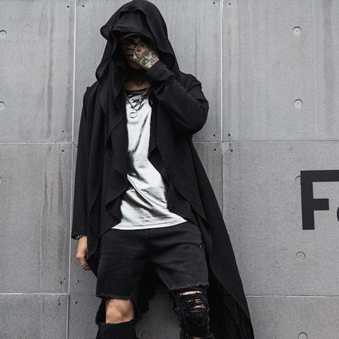 DYSTOPIA HOODED CLOAK I