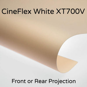 Draper CineFlex White XT700V Front/Rear Projection Surface