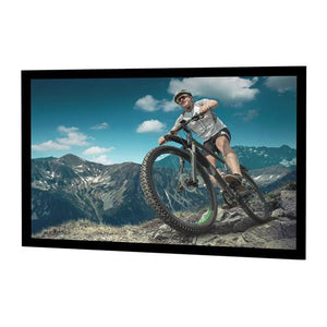 "Da-Lite Cinema Contour 58x104 (119""D) 16:9 Fixed-Frame Projection Screen"