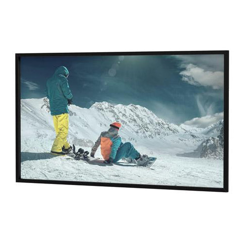 Fixed-Frame Projection Screens