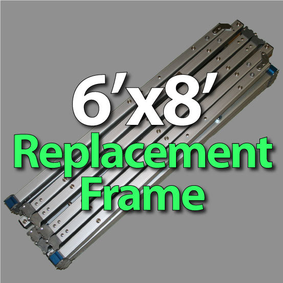 Da-Lite 89162 Fast-Fold Deluxe 6'x8' Replacement Frame