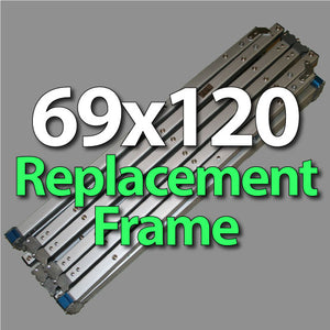 Da-Lite 89158 Fast-Fold Deluxe 69x120 Replacement Frame