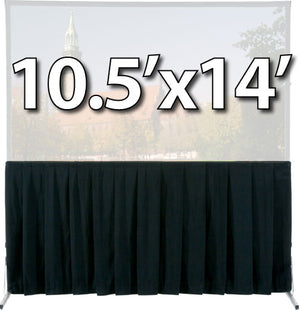 Da-Lite 36738 - Skirt Drapery for 10.5'x14' Fast-Fold Deluxe Screen System