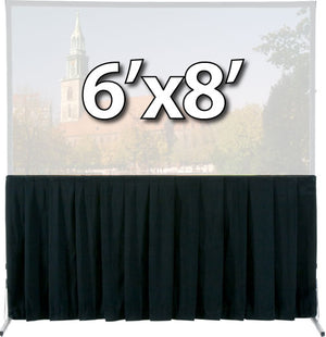 Da-Lite 36725 - Skirt Drapery for 6'x8' Fast-Fold Deluxe Screen System
