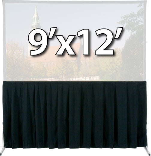 Da-Lite 36736 - Skirt Drapery for 9'x12' Fast-Fold Deluxe Screen System