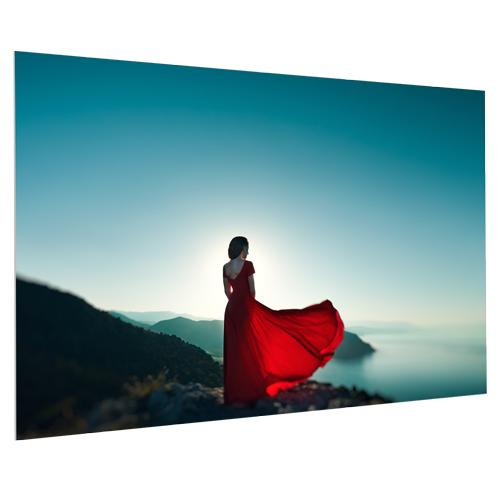 "Da-Lite FullVision 69x110 (130""D) 16:10 Fixed-Frame Projection Screen"