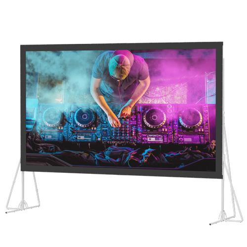 "Da-Lite 11'6""x15' Heavy-Duty Fast-Fold Deluxe Screen System"