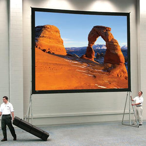 Da-Lite 10'x13' Heavy-Duty Fast-Fold Deluxe Screen System