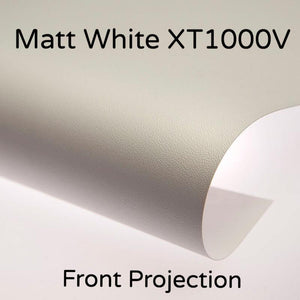 Draper Matt White XT1000V Front Projection Surface