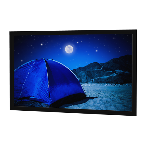 "Da-Lite Parallax 52x92 (106""D) 16:9 Fixed-Frame Projection Screen"