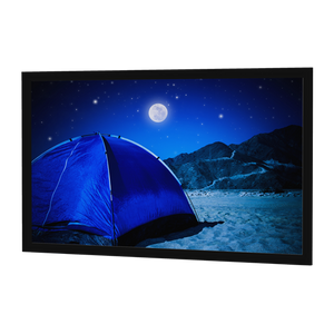 "Da-Lite Parallax 45x106 (115""D) 2.35:1 Fixed-Frame Projection Screen"
