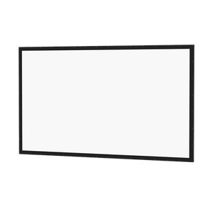 "Da-Lite Perm-Wall 37.5x67 (77""D) 16:9 Fixed-Frame Projection Screen"