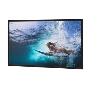 "Da-Lite Perm-Wall 108x192 (220""D) 16:9 Fixed-Frame Projection Screen"