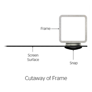 "Da-Lite Perm-Wall 40.5x72 (82""D) 16:9 Fixed-Frame Projection Screen"