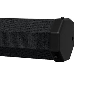 Black Carpeted Casing