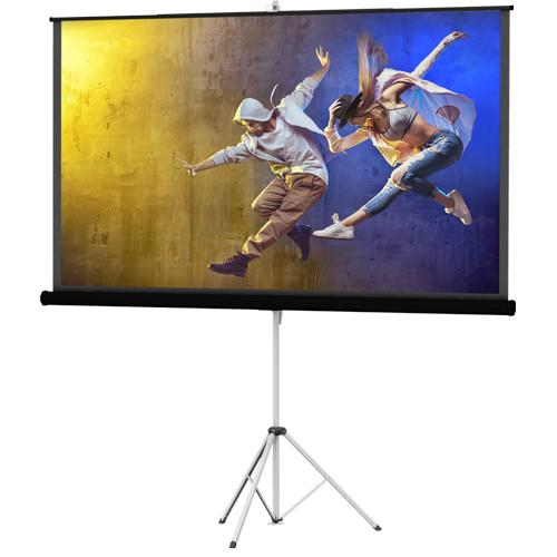 "Da-Lite Picture King 52x92 (106""D) Tripod Projection Screen"