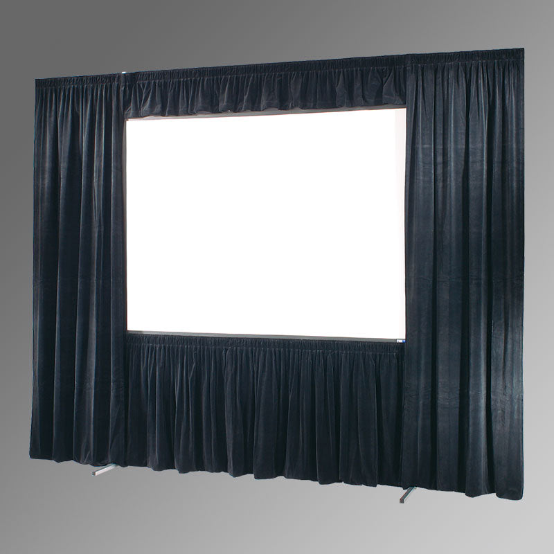 Draper 10.5'x14' Ultimate Folding Screen UFS Complete Dress Kit with Case