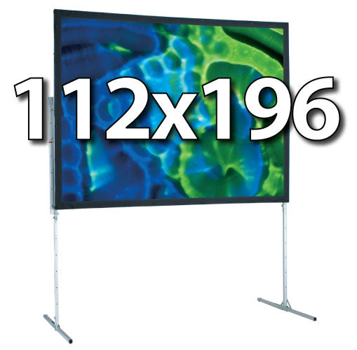 Draper 112x196 Ultimate Folding Screen Complete System