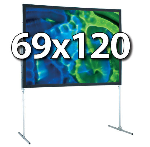 Draper 69x120 Ultimate Folding Screen Complete System
