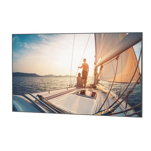 "Da-Lite UTB Contour 65x104 (123""D) 16:10 Fixed-Frame Projection Screen"