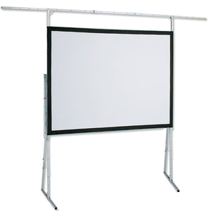 Draper 83x144 Ultimate Folding Screen UFS Complete Dress Kit with Case