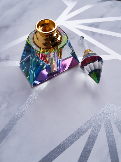Crystal Perfume Bottle - Sweet Clarity Ltd