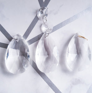 Step 3. Pick Your Charm - Pear Shaped Crystal - Sweet Clarity Ltd