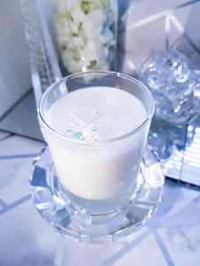 "alt=""scented candle with swarovski star crystal"""