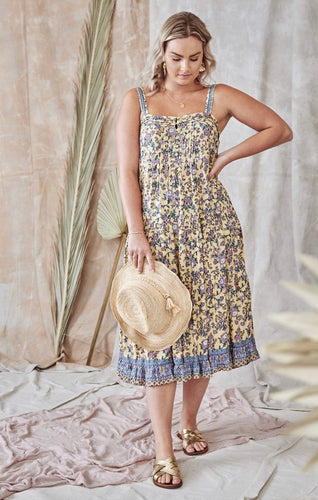 Belize Dress - Lemonade