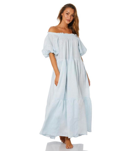Resort Float Dress - Powder Blue