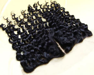 Curly HD lace frontal