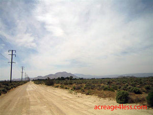 CALIFORNIA:  2.5 ACRES IN KERN COUNTY, CALIFORNIA - PROPERTY ID: #244-432-28 -  $6,500 / $450 DOWN