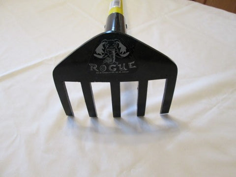 "Rogues beefy, strong rake with a 6.5x6.5"" head. Shipped from Canada."