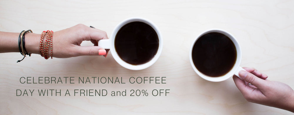 National Coffee Day -20% Off