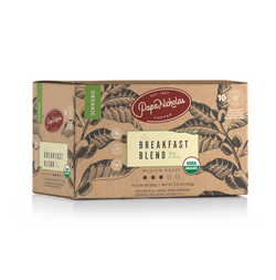 Breakfast Blend USDA Organic Single Serve Cups