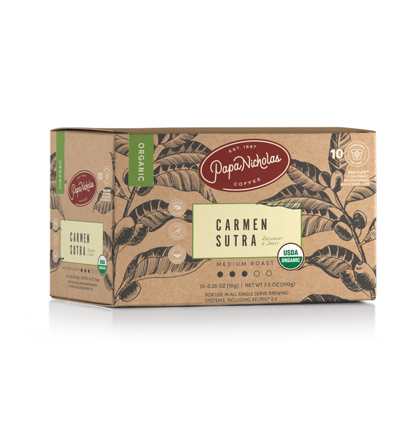 Carmen Sutra USDA Organic Single Serve Cups