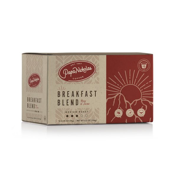 Breakfast Blend Single Serve Cups