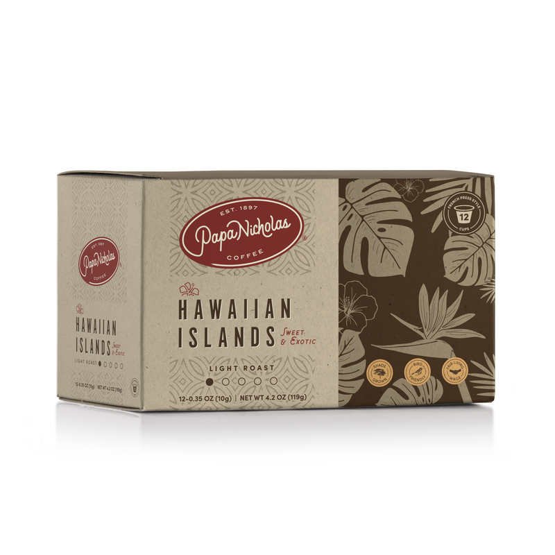 Hawaiian Islands Single Serve Cups