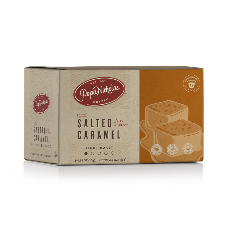 Salted Caramel Single Serve Cups