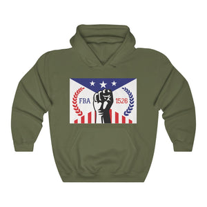 FBA FLAG Unisex Heavy Blend™ Hooded Sweatshirt