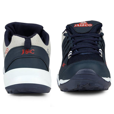 Men Navy Blue Sky Lace Up Outdoor Sport  Running Shoes