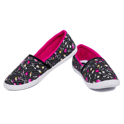 Multicoloured Fabric Casual Shoes for women