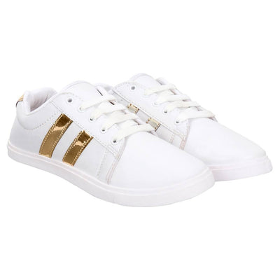 Women  Casual Sneaker Shoes white