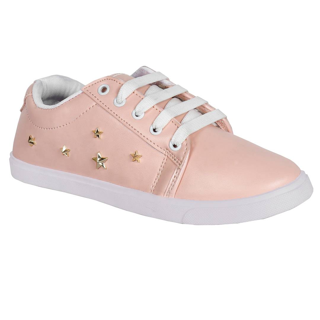 Women Pink Casual Sneaker Shoes