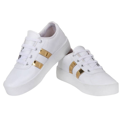 Women Rexine Casual Sneaker Shoes