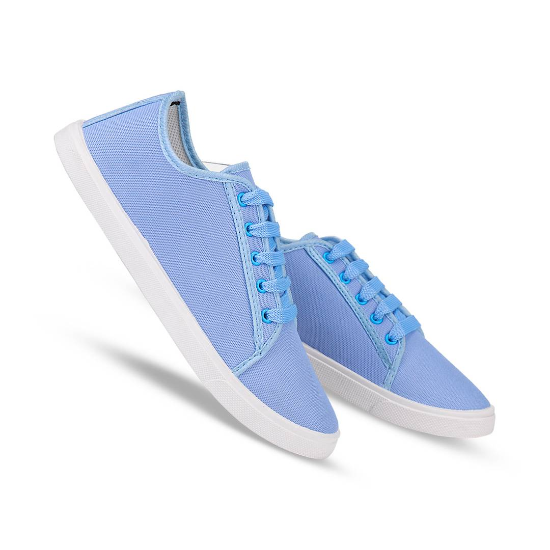 Stylish Sky Blue Women Casual Sneakers