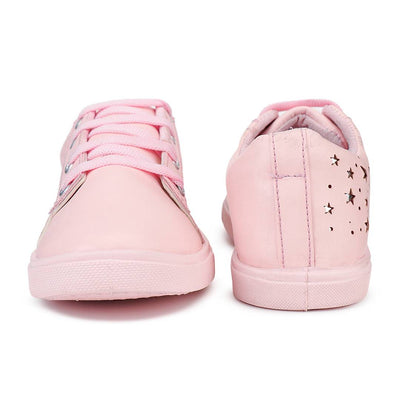 Stylish Star Pink Women Casual Sneakers