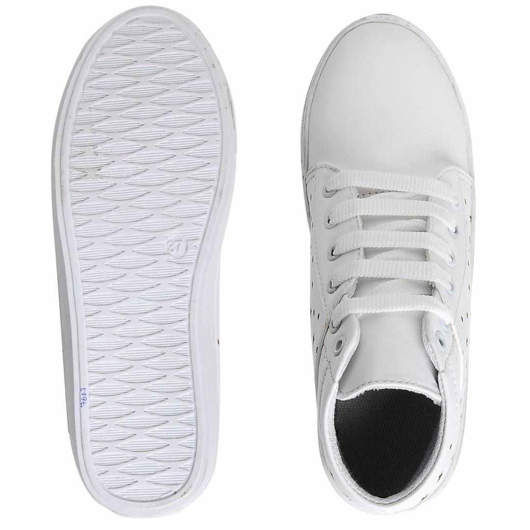 Fashionable Mid Ankle Sneakers Shoes