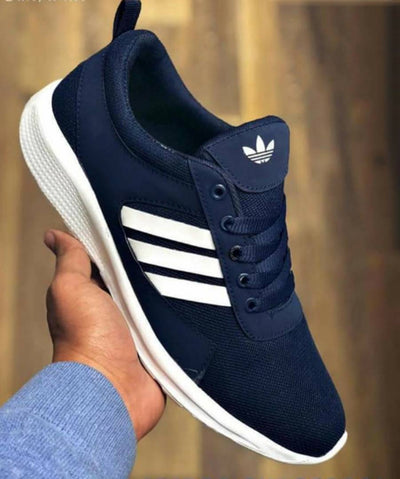 Men's Navy Blue Smart Walking Sports Shoes